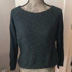 Green Silent Noise Sweater
